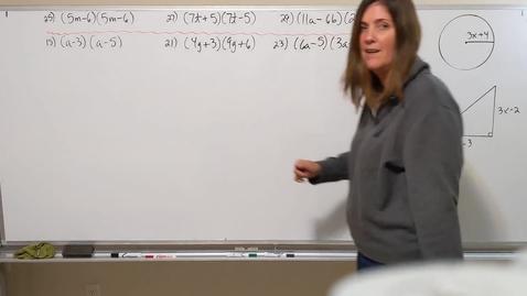 Thumbnail for entry Algebra #3 Foil