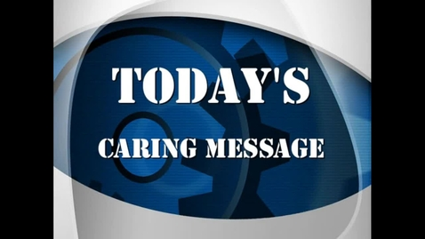 Thumbnail for entry Matt Caring Message