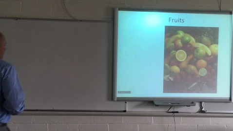 Thumbnail for entry Lecture Simple Fleshy Fruits Part 1