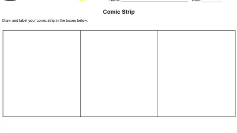 Thumbnail for entry Stemscopes- Comic Strip Story Activity