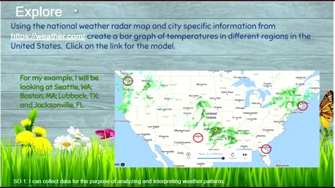 Thumbnail for entry Weather Patterns - Analyze and Interpret Data
