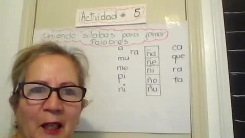 Thumbnail for entry Mensaje de la manana_Unir silabas_04.21.20