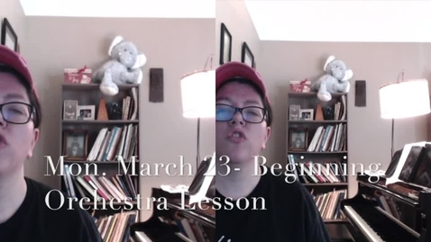 Thumbnail for entry Beginning Orchestra 3-23
