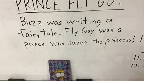 Thumbnail for entry Sentences for 'Prince Fly Guy'