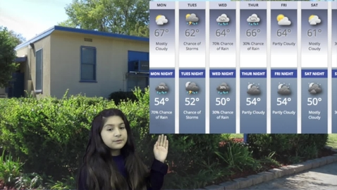 Thumbnail for entry Mar. 9, 2020 Vintage Forecast and Events for the school week