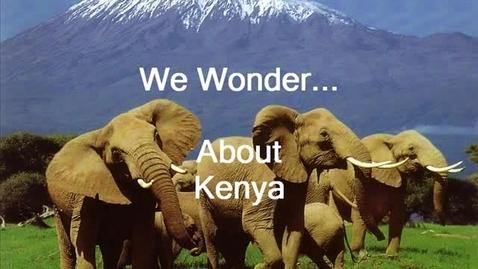 "Thumbnail for entry 1st Geade ""I Wonder about Kenya"""