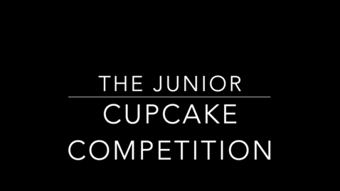 Thumbnail for entry The Junior Cupcake Competition