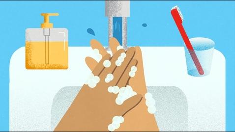 Thumbnail for entry How Soap Suds Kill the Coronavirus