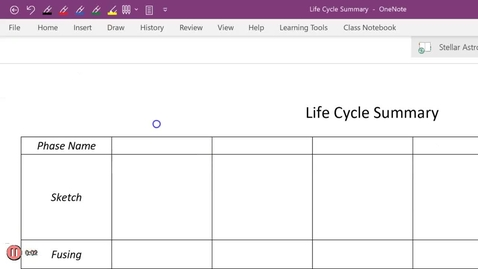 Thumbnail for entry Life Cycle Summary P7 pt1