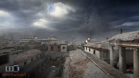 Thumbnail for entry A Day in Pompeii - Full-length animation