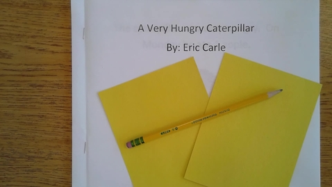 Thumbnail for entry Tuesdy Hungry Caterpiller Book