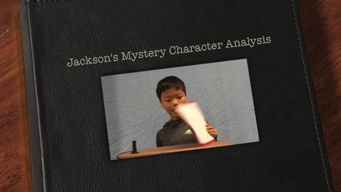 Thumbnail for entry Jackson's Mystery Character Analysis