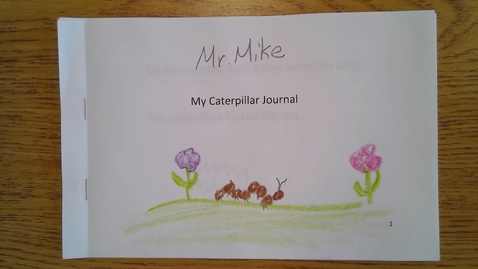 Thumbnail for entry Friday My Caterpillar Book