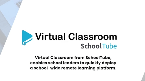 Thumbnail for entry Virtual Classroom Distance Learning Solution