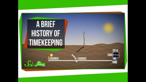 Thumbnail for entry A Brief History of Timekeeping