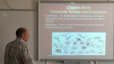 Thumbnail for entry Lecture Part 2 - Ecology