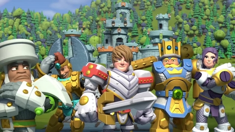 Thumbnail for entry Kingdom Builders   Episode 8: King For A Day   Cartoon Webisode for Kids