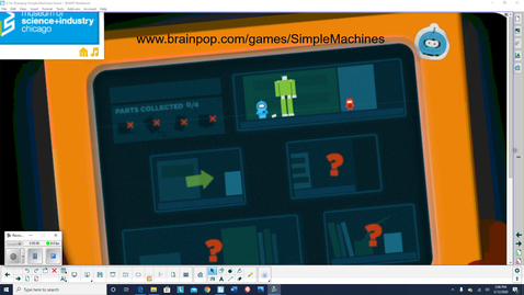 Thumbnail for entry 0-5-11. brainpop simple machines game explanation