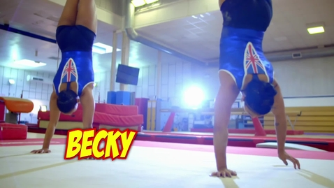 Thumbnail for entry Most aerial cartwheels on a balance beam in one minute