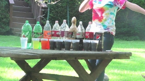 Thumbnail for entry Soda and Mentos Experiment