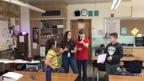 Thumbnail for entry Student News for Thursday, February 27th