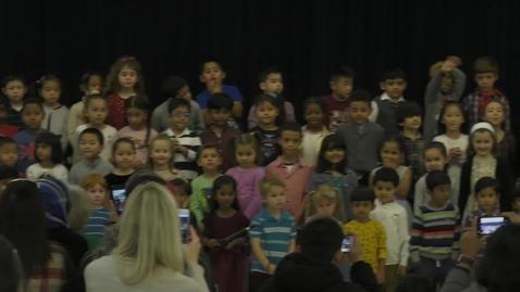 Thumbnail for entry Marshall Elementary Kindergarten, 1st grade