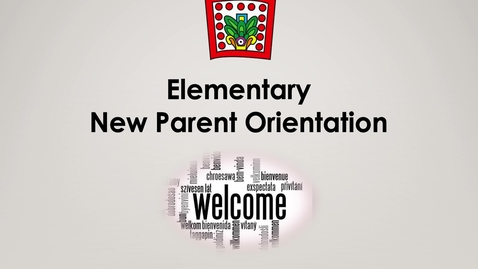Thumbnail for entry New Parent Orientation