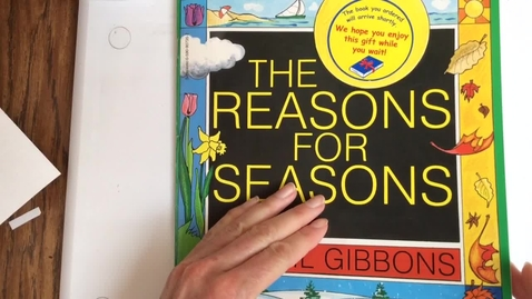 Thumbnail for entry The Reasons for Seasons