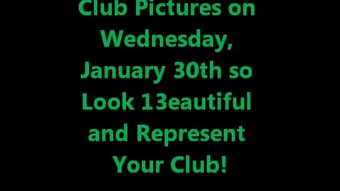 Thumbnail for entry WMHS Club Day
