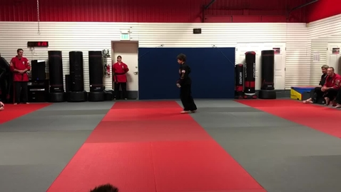 Thumbnail for entry Eric's Black Belt Extravaganza (Speech and Performance)