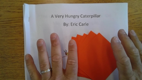 Thumbnail for entry Friday Hungry Caterpillar Book