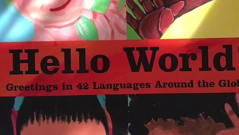 "Thumbnail for entry ""Hello World!"" Read Aloud"