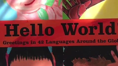 "Thumbnail for entry ""Hello World!"" Read Aloud"