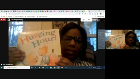 Thumbnail for entry Read Aloud - Mrs. McIver - Hugging Hour