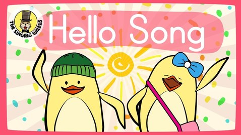 Thumbnail for entry The Singing Walrus | Hello Song