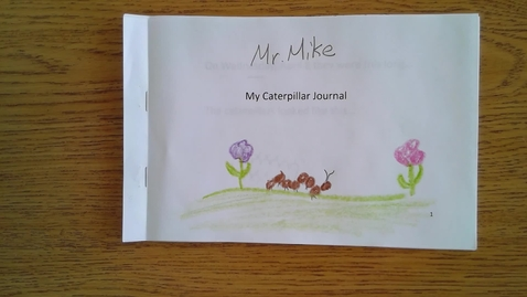 Thumbnail for entry Monday Caterpillar Journal