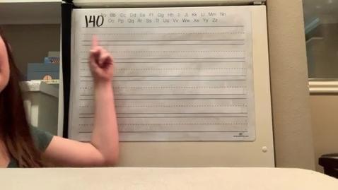 Thumbnail for entry Spelling Lesson 140