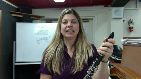 Thumbnail for entry Elem. Clarinet/Bass Clarinet Sectional May 12