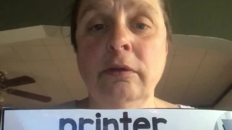 Thumbnail for entry 4.2.20-Spanish word of the day-Printer