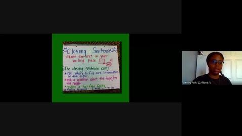 Thumbnail for entry Closing Sentence