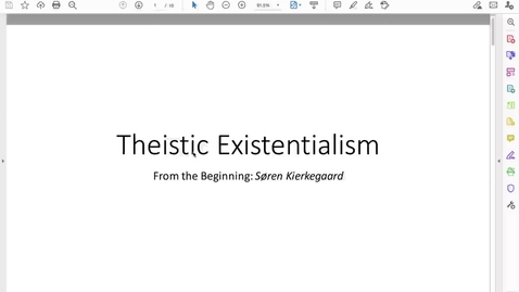 Thumbnail for entry 3.30 Philosophy in Lit, SK Intro