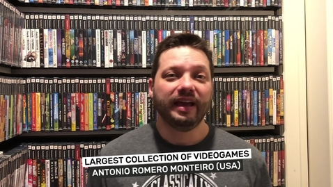 Thumbnail for entry Largest collection of videogames