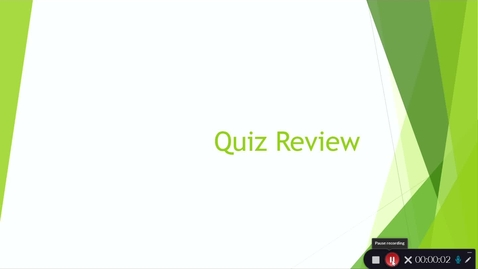 Thumbnail for entry Quiz Review