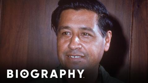 Thumbnail for entry Cesar Chavez - American Civil Rights Activist | Mini Bio | BIO