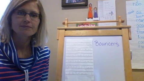 Thumbnail for entry Thursday 4/9 Handwriting Heroes- Bouncers