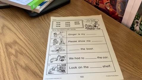 Thumbnail for entry 1st Grade PHONICS - Friday, May 1