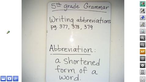 Thumbnail for entry 5.27 Grammar Video