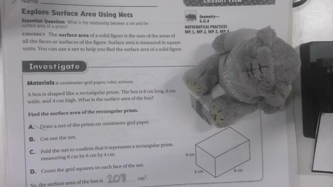Thumbnail for entry 11.2 6th Grade Math