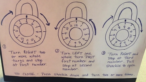 Thumbnail for entry Opening Combination Locks