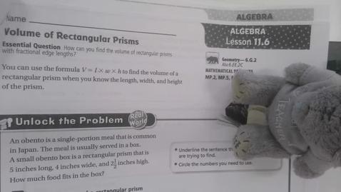 Thumbnail for entry 6th Grade Math 11.6
